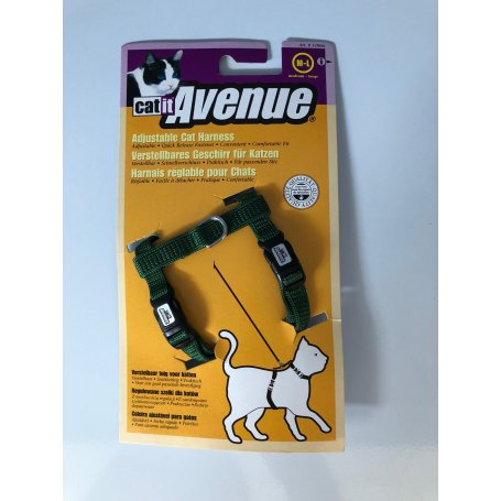 Arnes Para Gatos 40-55Cm X 8Mm Color Verde