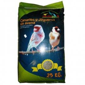 Saco Mixtura Canarios Sin Avena De 25 Kg