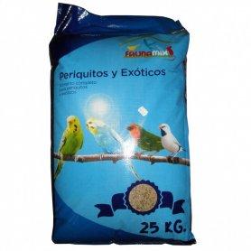 Saco Mixtura Periquitos Y Exoticos 25Kg
