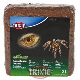 Suelo Coco Prensado 2L Para Reptiles Y Anfibios Tropicales