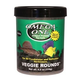 Tabeltas Veggie Rounds Omega One 130 Ml 56Gr, Comida Vegetarianos