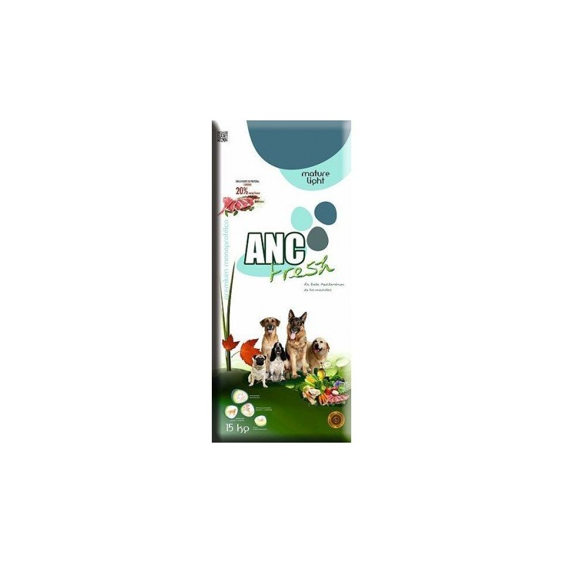 Pienso Para Perros Anc Fresh Mature Y Senior Light 3Kg