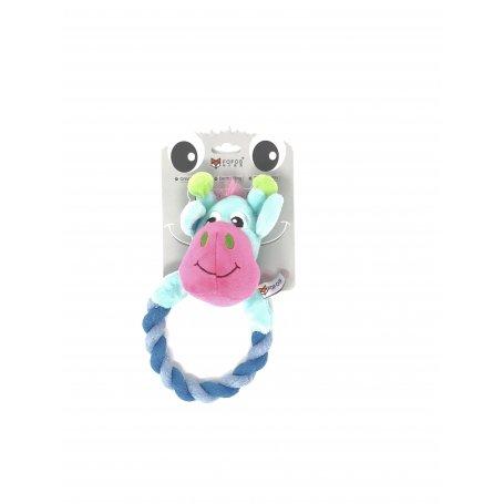 Toy Fofos Jirafa Cuerda - Juguete Para Perros
