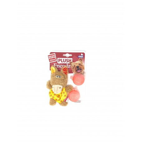 Toy Plush Friendz Burro Sonido Mar - Juguete Para Perros