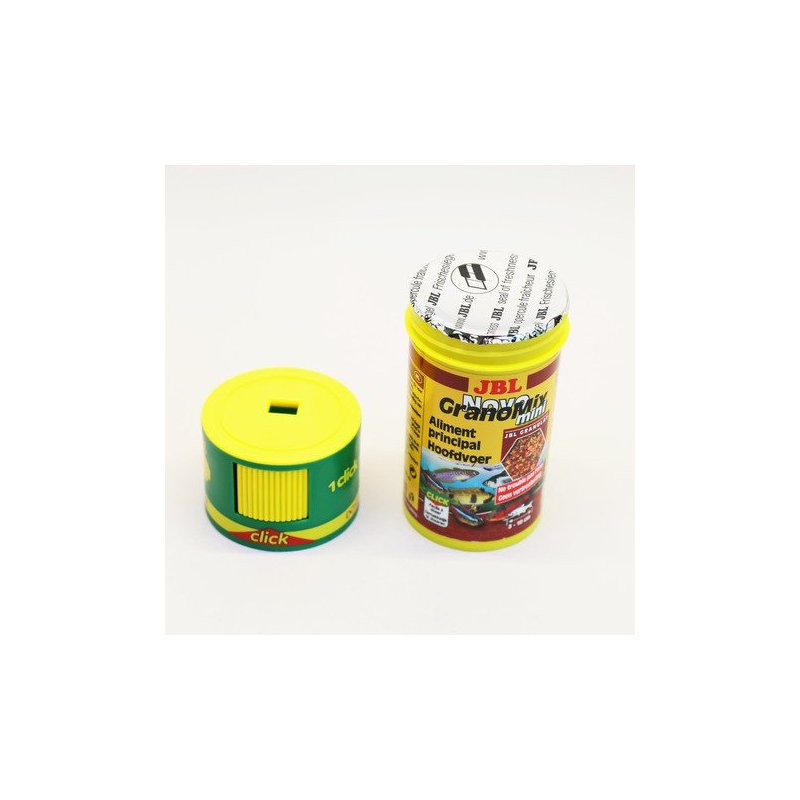 Jbl Novograno Mix Mini Click 100 Ml - 42Gr - Para Peces Tropicales