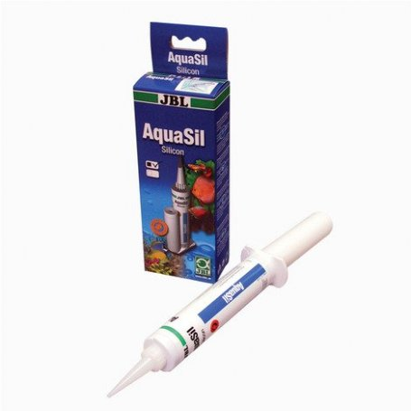 Jbl Aquasil Silicona Negra Para Acuarios 80 Ml