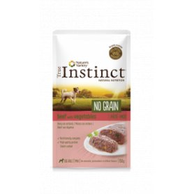 True Instinct Pate No Grain Ternera Y Verduras 150 Gr Para Perros, comida húmeda para perros de primerisima calidad