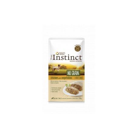 True Instinct Pate No Grain Pollo Y Verduras 150 Gr Para Perros, comida húmeda para perros de primerisima calidad