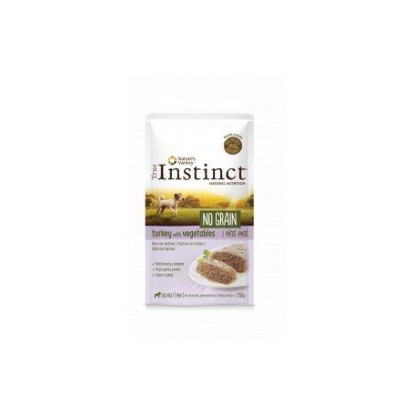 True Instinct Pate No Grain con pavo Y Verduras 150 Gr Para Perros, comida húmeda para perros de primerisima calidad