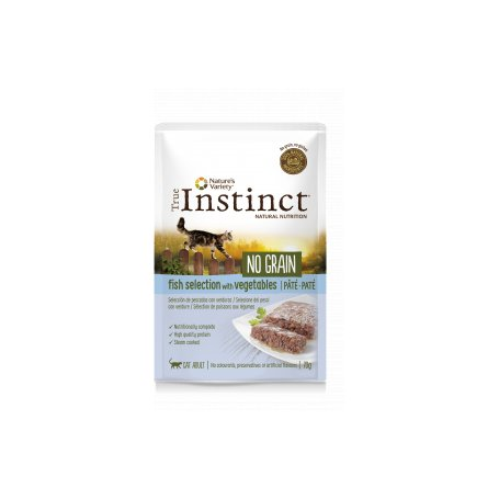 True Instinct No Grain Pate Adult Fish Select 0,70Gr - Para Gatos