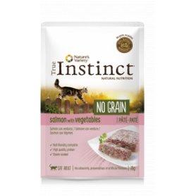 True Instinct No Grain Pate Salmon Y Vegetales 70Gr - Para Gatos