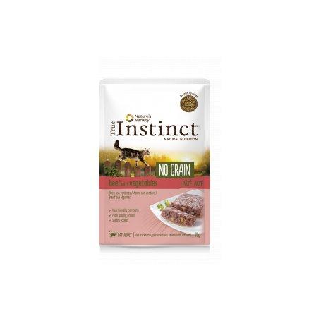 True Instinct No Grain Pate Buey Y Verduras 70Gr - Para Gatos