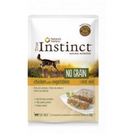 True Instinct No Grain Pate Con Pollo Y Verduras 70 Gr- Para Gatos