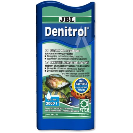 Jbl Denitrol 100Ml - Bacterias Nitrificantes Concentradas