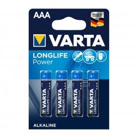 Pila Alcalina Longlife Power Varta A.A L.R6 Blister 4 Pilas