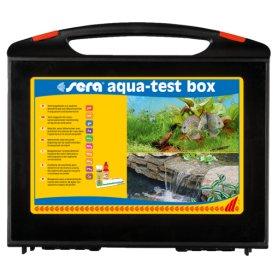 Sera Aqua-Test  Box +Cu, maletin con los test de analisis de agua de acuario mas comunes y completos