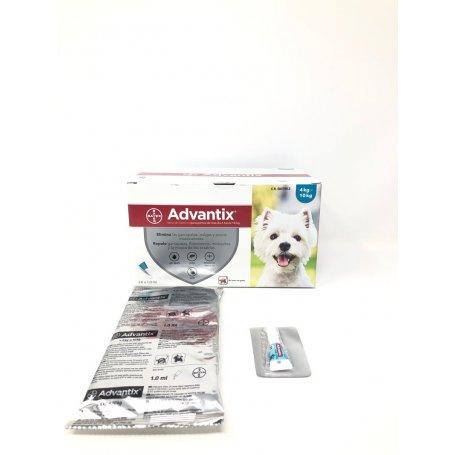 Pipeta Advantix 1 Pipeta Para Perros De 4 A 10Kg