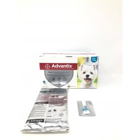 Advantix Pipetas Triple Accion  1 Ml X  Pipetas Perros 4-10Kg