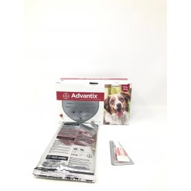 Advantix Pipetas Triple Accion  2,5 Ml X 4 Pipetas Perros 10 A 25Kg