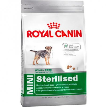Royal Canin 2Kg, MINI Sterilised Adult, perros