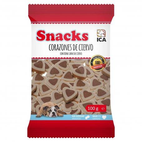 Snacks Corazones De Cirvo 100Gr Para Perros