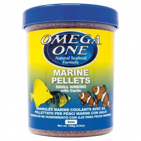 Pellets Marinos Con Ajo Omega One 270 Ml Comida Para Marino