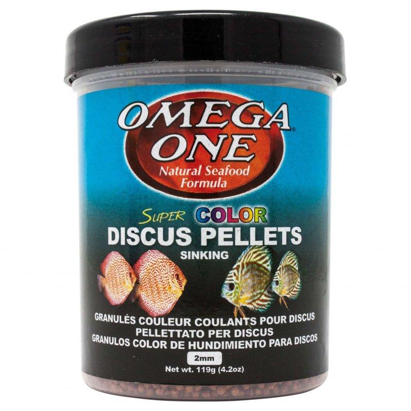 Pellets Color Discos Omega One 270 Ml, Comida Natural Para Discos