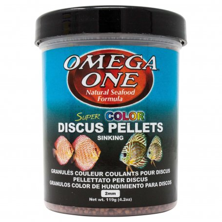 Pellets Color Discos Omega One 270 Ml, Comida Natural Para Discos
