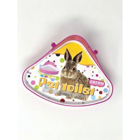 Bandeja Higienica De Esquinera Para Conejos Y Cobayas