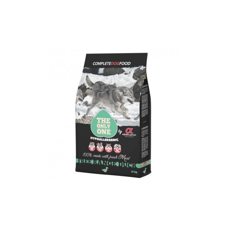 Alimento Para Perros Only Duck 12Kg Alpha Spirit