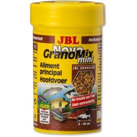 Jbl Novogranomix 100 Ml, 42Gr.  Alimento Basico Para Peces De Acuario