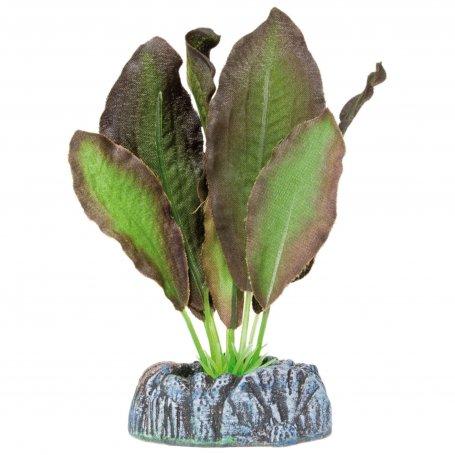 Planta Plastica Seda Echinodorus Marron 11Cm