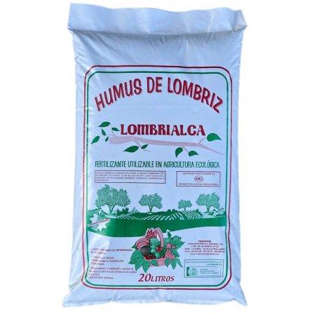 Humus De Lombriz Sustrato Natural Ecologico 20L