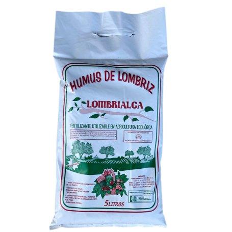 Humus De Lombriz Sustrato Natural Ecologico 5L