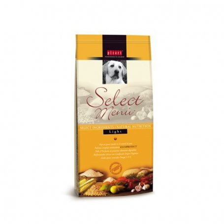 SELECT MENU LIGHT 15KG PICART PERROS