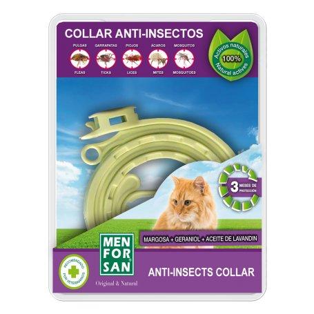 Collar Antiparasitario Gatos Menforsan