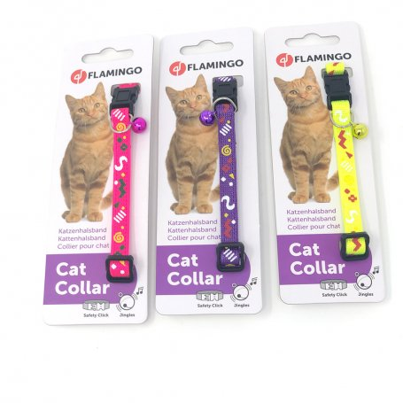 Collar Gato Party 25-35Cm Colores Surtidos