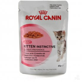 Royal Canin Sobre 85gr, Kitten Instinctive, gatos
