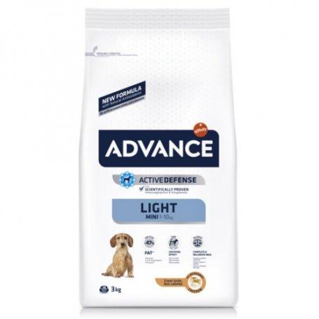 Advance 1,5Kg Mini Light - Pienso Para Perros