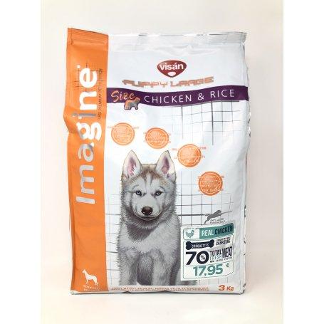 Pienso Imagine Puppy + Junior Large 3Kg