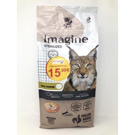 Pienso Imagine Cat Sterilized 2Kg
