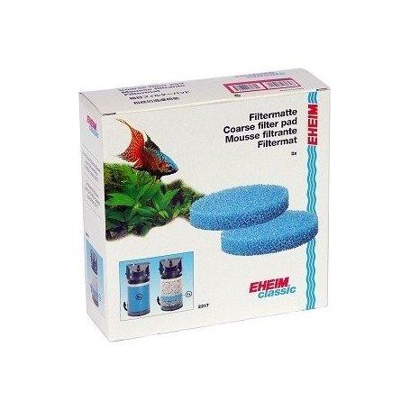 Eheim Recambio Juego De Esponjas Azules 2Un. Para Filtro Classic 600, filtros y calentadores para acuario en priego