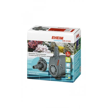 Las bombas para acuarios EHEIM compactON se caracterizan, de acuerdo con su nombre, por su construcción compacta