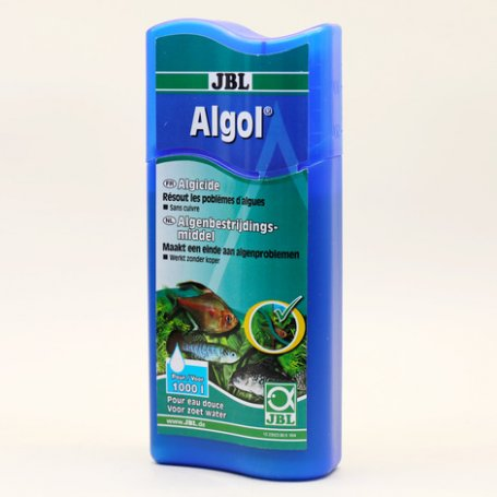 Jbl Algol 250 Ml Alguicida Rapido Y Eficaz Para Acuarios tienda de peces tropicales en priego de cordoba