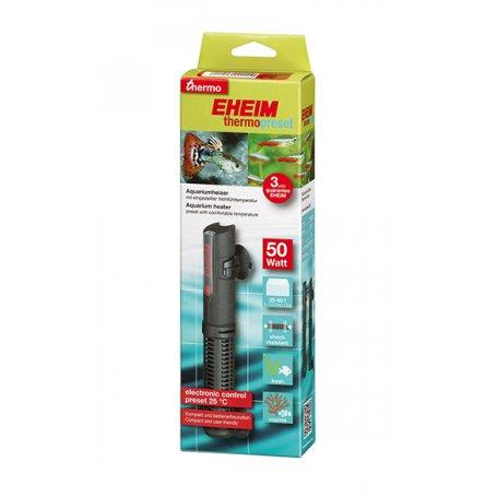 Eheim Termopreset 50W 25-60 L, para calentar el agua de los acuarios tropicales