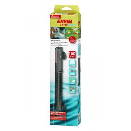 Eheim Thermopreset 150 W 200 - 300 L, es facil calentar y mantener el agua de tu acuario caliente