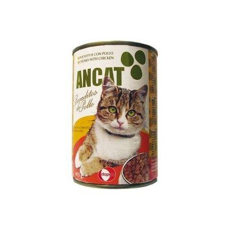 Comida Gatos Lata 415gr Pollo y Verduras - Ancat