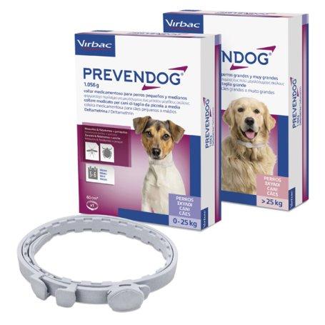 Prevendog 2 X 75 Cm Collar Antiparasitario De Virbac, venta en priego de cordoba y barato