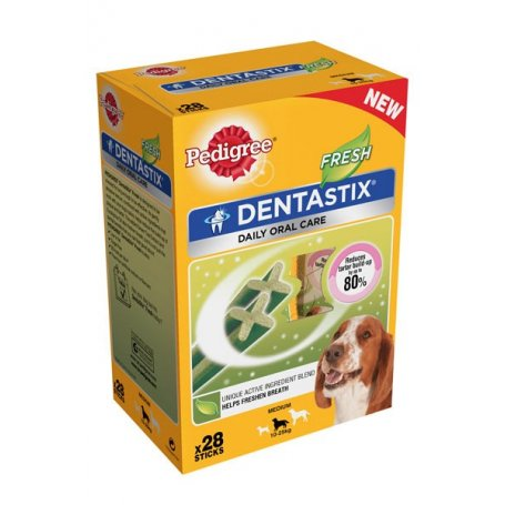 Snack Dentastik Fresh (28 piezas) Razas medianas - Pedigree