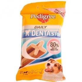 Snack Dentastik Pedigree para perros de 5-10kg blister de 7un-110 gr